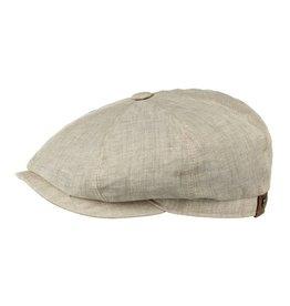 Stetson Stetson Hatteras Flatcap Linen Beige