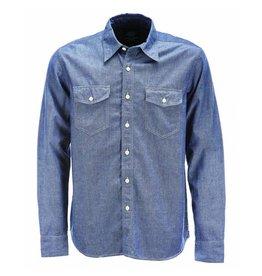 Dickies Dickies Hallstead Denim Shirt Blue