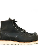 "Red Wing Red Wing 6"" Moc-Toe Black"
