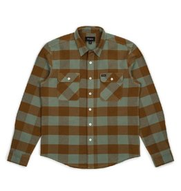 Brixton Bowery Flannel Green Bay