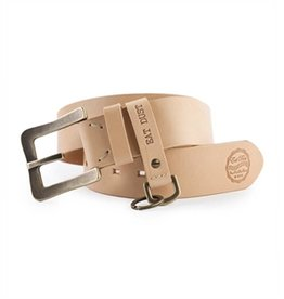 Eat Dust Leather Belt Naturel