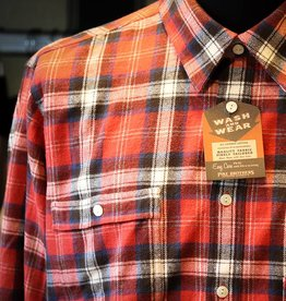Pike Brothers Pike Brothers 1937 Roamer Shirt Flannel Red