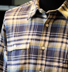 Pike Brothers Pike Brothers 1937 Roamer Shirt Dark Blue Flannel