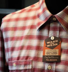 Pike Brothers Pike Brother Roamer Shirt Pioneer Red Check