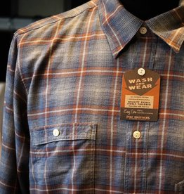 Pike Brothers Pike Brothers 1937 Roamer Shirt Blue Brown Check