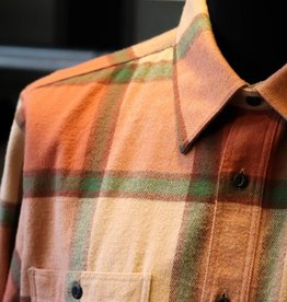 Pike Brothers Pike Brothers 1937 Roamer Shirt Flannel Orange