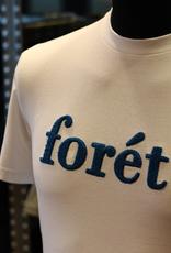 foret FORET LOGO T-SHIRT WHITE/BLUE