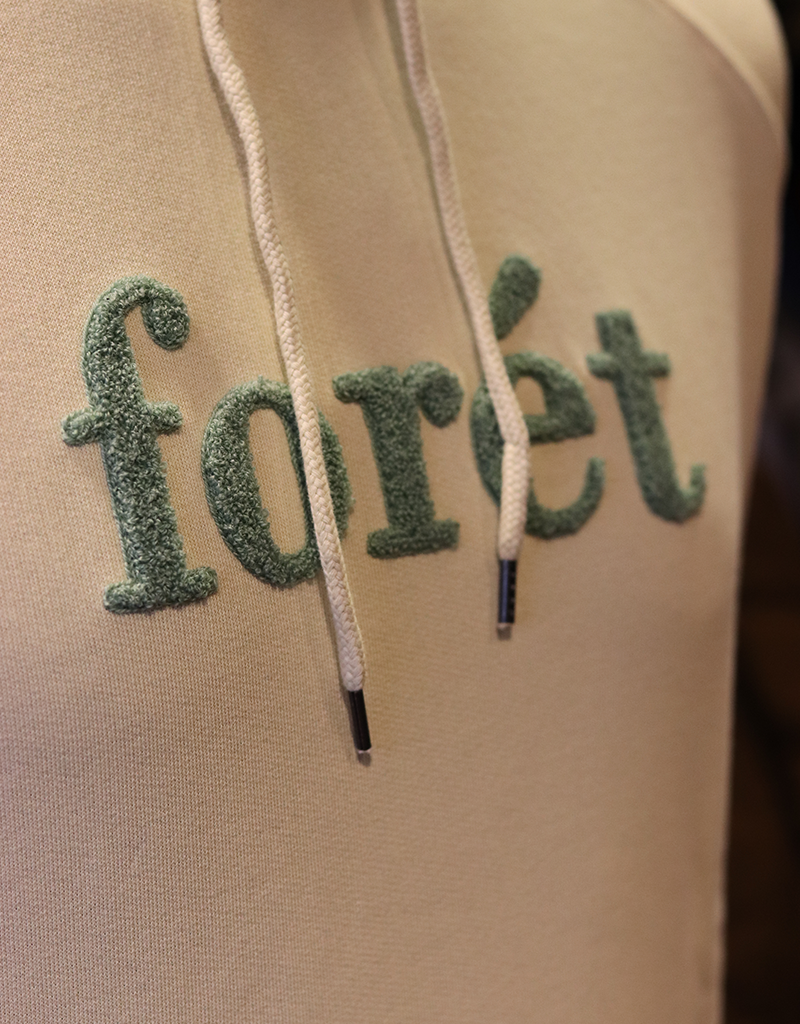 foret Foret Cream Maple Hoodie