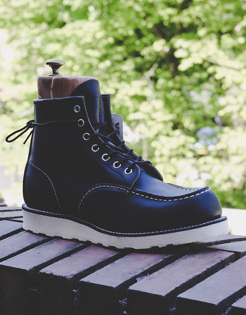"""Red Wing Red Wing 6"""" Moc-Toe Black"""