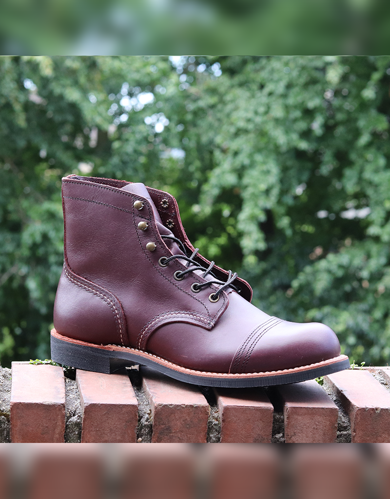 d1044dc6624 Red Wing Red Wing 8119 Iron Ranger Oxblood Mesa 6-inch