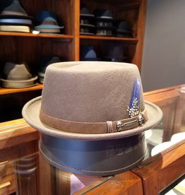 Stetson Stetson Pork Pie Woolfelt Beige/Brown
