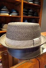Stetson Stetson Pork Pie Toyo Dark Grey