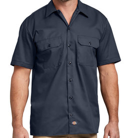 Dickies Dickies Short Sleeve Work Shirt Navy