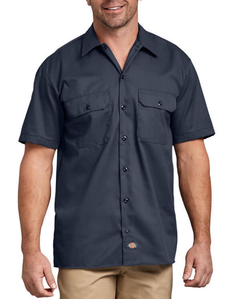 Dickies Dickies Short Sleeve Work Shirt Navy