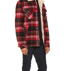Nudie Jeans Lenny Plaid red alert