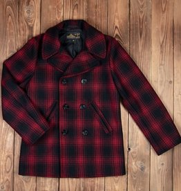 Pike Brothers 1938 Coat Red Check Wool