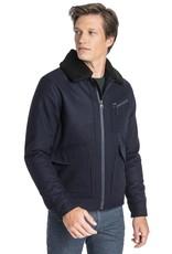 Lee Wool Jacket Midnight Navy