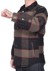 Brixton Cass Jacket Heather Grey/Charcoal