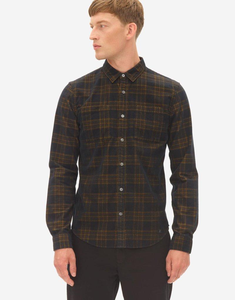 Nowadays Cordury Check Kent Shirt
