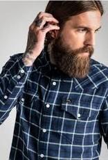 Lee 101 Western Shirt Maritime Blue