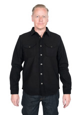Lee Wool Overshirt Pitch Black