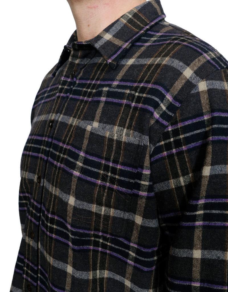 Eat Dust Shirt Combat Prince Check Brown/Purple
