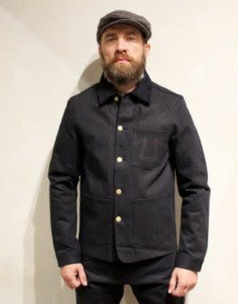 ED B 673 Fit Heavier Black Denim Jacket
