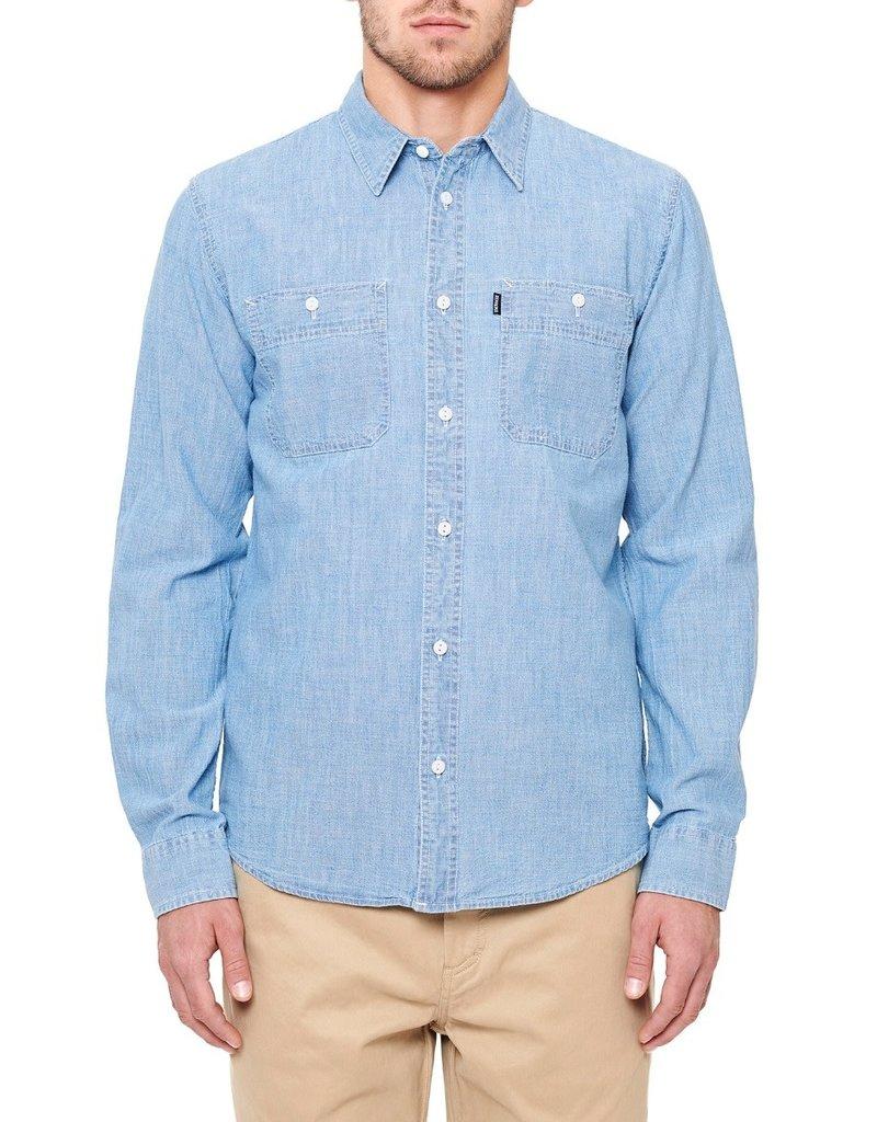 DePalma Workwear Uppity, Blue Chambray