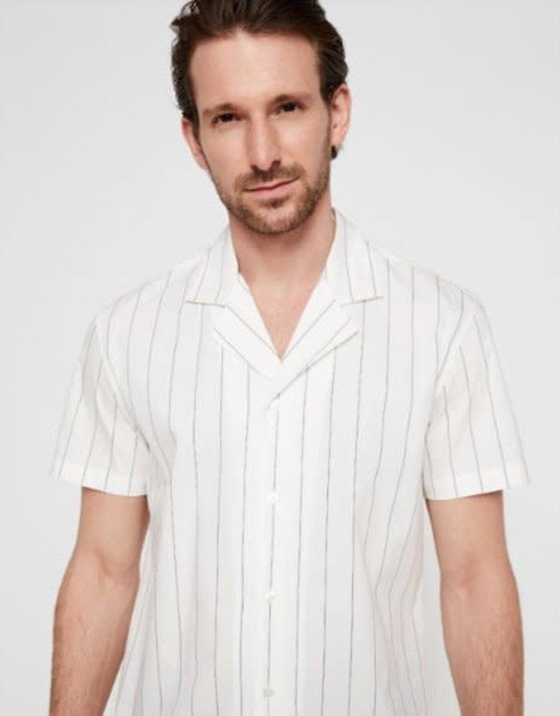 CleanCutCopenhagen Bowling Shirt White
