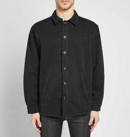 Nudie Jeans co Elias Twill Overshirt Black