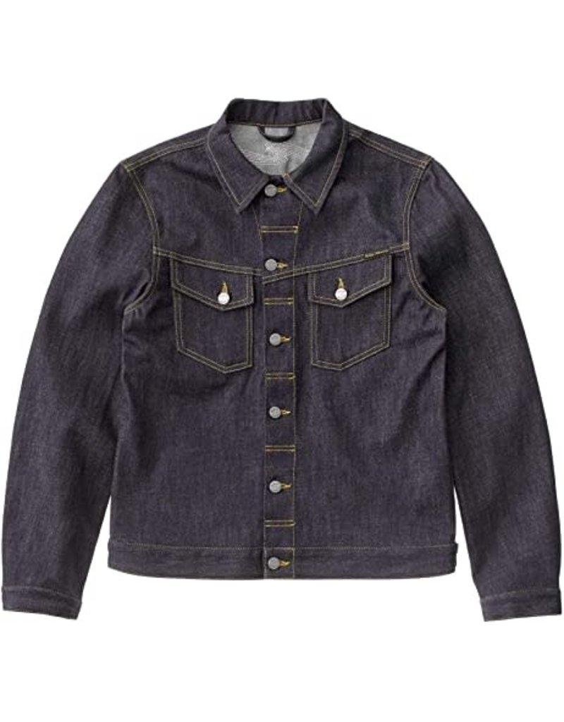 Nudie Jeans Kenny Dry Ecru EMBO