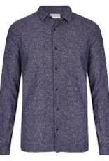 Nowadays Heavy Brushed Linen Shirt Blue/Black