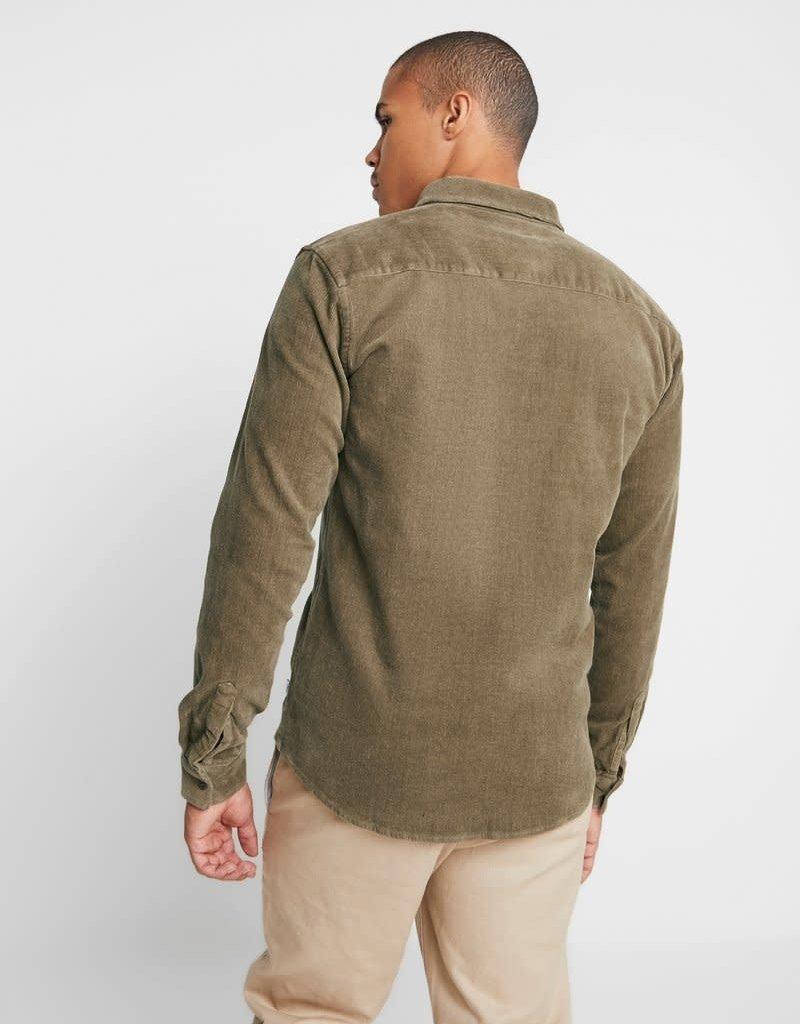 Woodbird Cordie Shirt Brownie