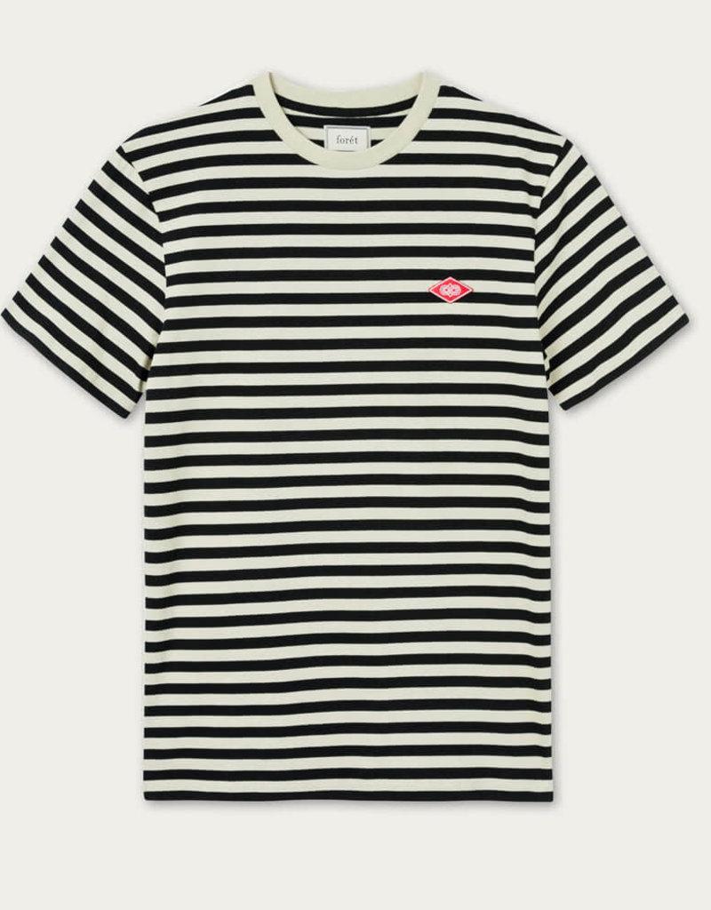 foret Foret Hawk T-Shirt Cream/Black