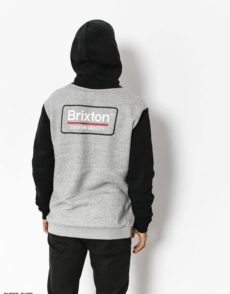 Brixton Palmer Hoodie Heather Grey/Black