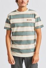 Brixton Hilt Print Knit Dove/Cypress