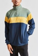 Brixton Cantor 1/2 Zip Cypress/Washed Navy