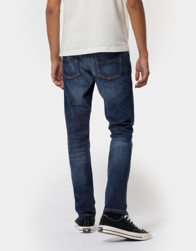 Nudie Jeans Co Lean Dean Dark Deep Worn
