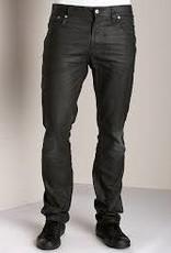 Nudie Jeans Thin Finn Worn black coated