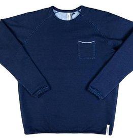 Denim.Lab Frame Sweater Indigo
