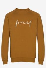 foret Foret Track Sweatshirt Tan