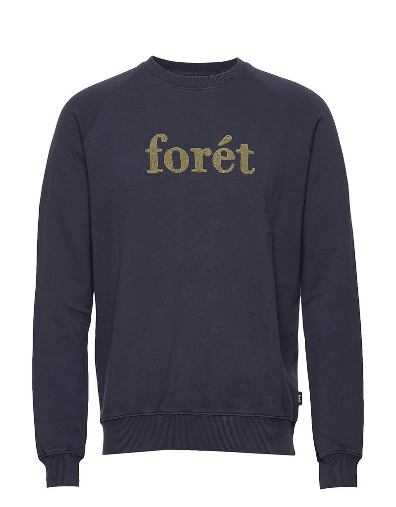 foret Forét Spruce Sweatshirt Midnight Blue/Olive