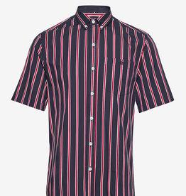 foret Forét Mesa Shirt Midnight Blue/red
