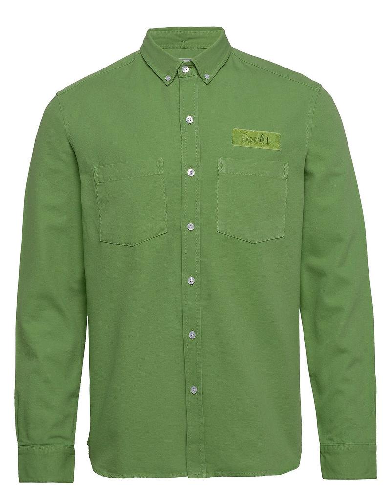 foret Forét Bear Shirt Green
