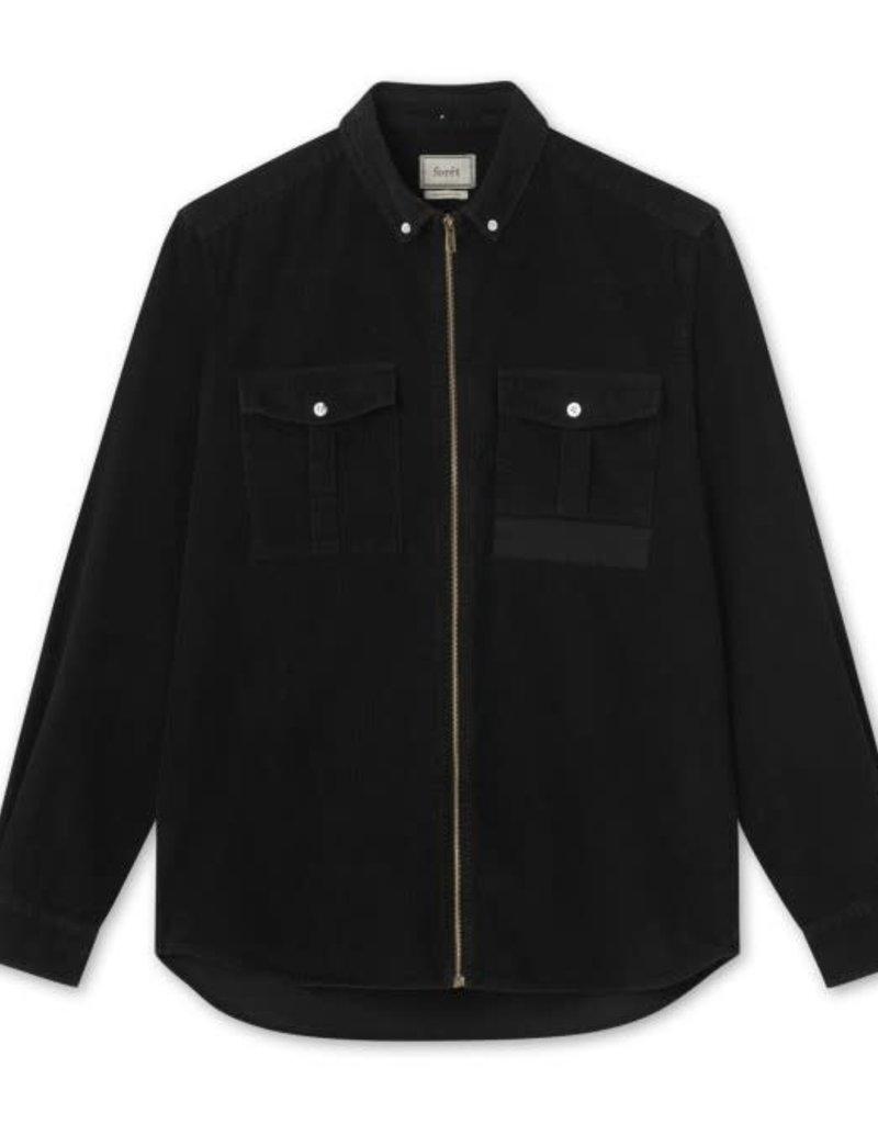 foret Forét Frog Zip Shirt Black