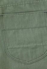 Benzak Bp-02 Patch Pocket Pants Green Linen Selvedge
