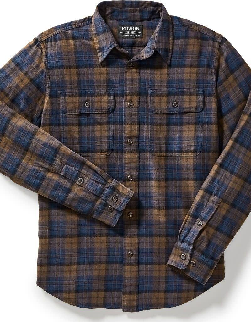 Filson Filson Scout Shirt Brown/Navy/Black