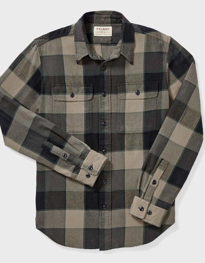Filson Filson Scout Shirt Grey/Green/Tan