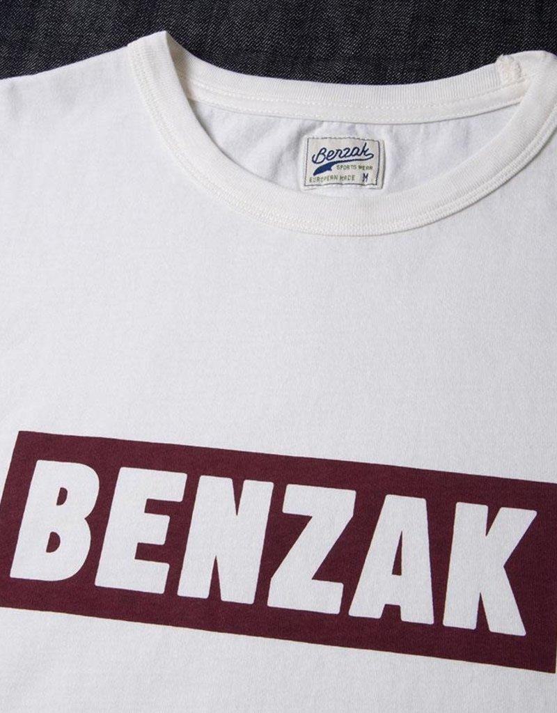 BENZAK box logo burgundy 100% cotton