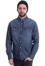 Dickies Dickies Willard Mens Shirt Mid Blue
